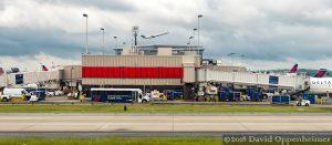 Delta Airline Jet Takeoff at Atlanta International Airport