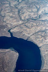 Fontenelle Reservoir Aerial