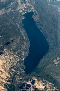 Redfish Lake Idaho Aerial