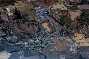 Soda Springs Idaho Aerial