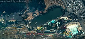 Wild Waves Theme and Water Park Federal Way Aerial