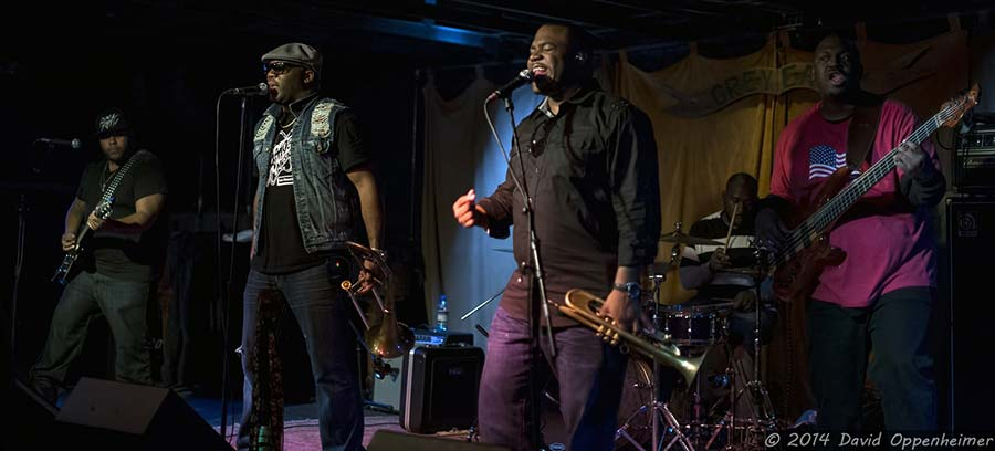 music photography of big sam's funky nation