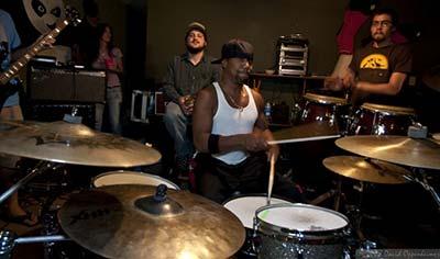 Rico Lewis at The Big Ol' Nasty Getdown Rehearsal