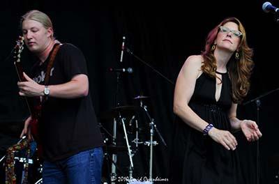 Derek Trucks Band with Susan Tedeschi at All Good Festival 2008