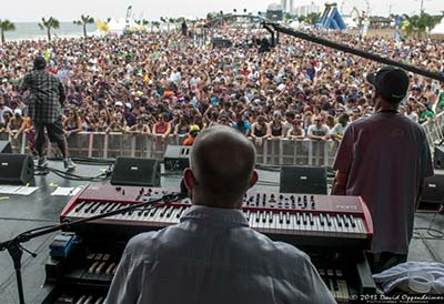 photo of galactic at hangout music festival
