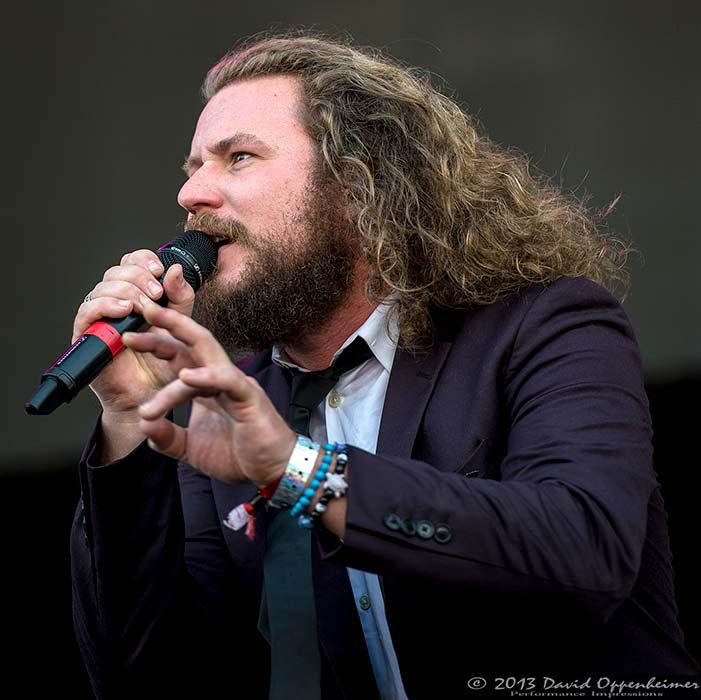 Jim James at Hangout Music Festival 2013