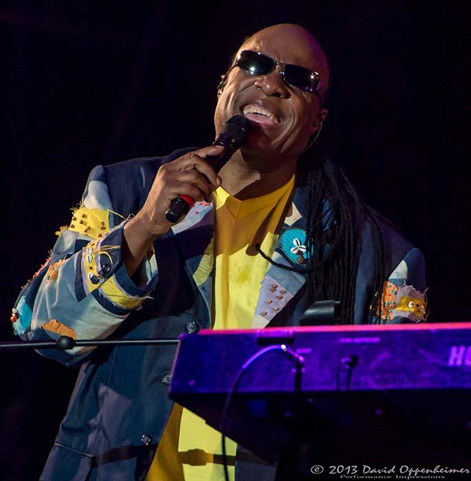 Stevie Wonder at Hangout Music Festival 2013