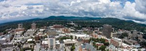 Downtown Asheville Aerial Photo