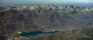 Asheville Water System Watershed at Burnett Reservoir
