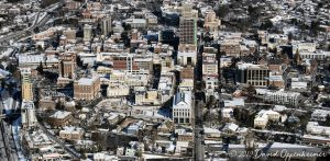 Asheville Downtown Aerial