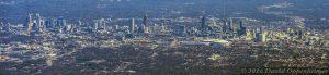 Atlanta City Skyline Aerial Panorama