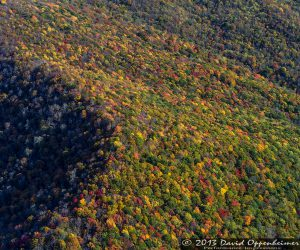 Blue Ridge Parkway with Autumn Colors