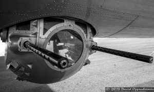 B-17 Flying Fortress Sperry Ventral Ball Turret