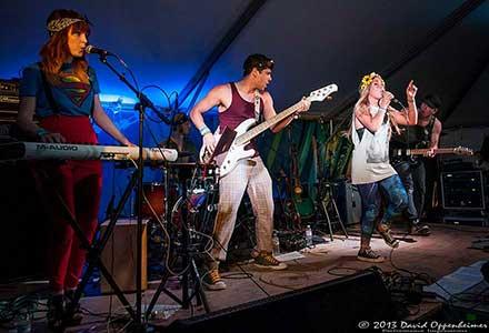 Noelle Bean at Bonnaroo Music Festival 2013