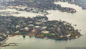 Belle Haven Real Estate Aerial Photo