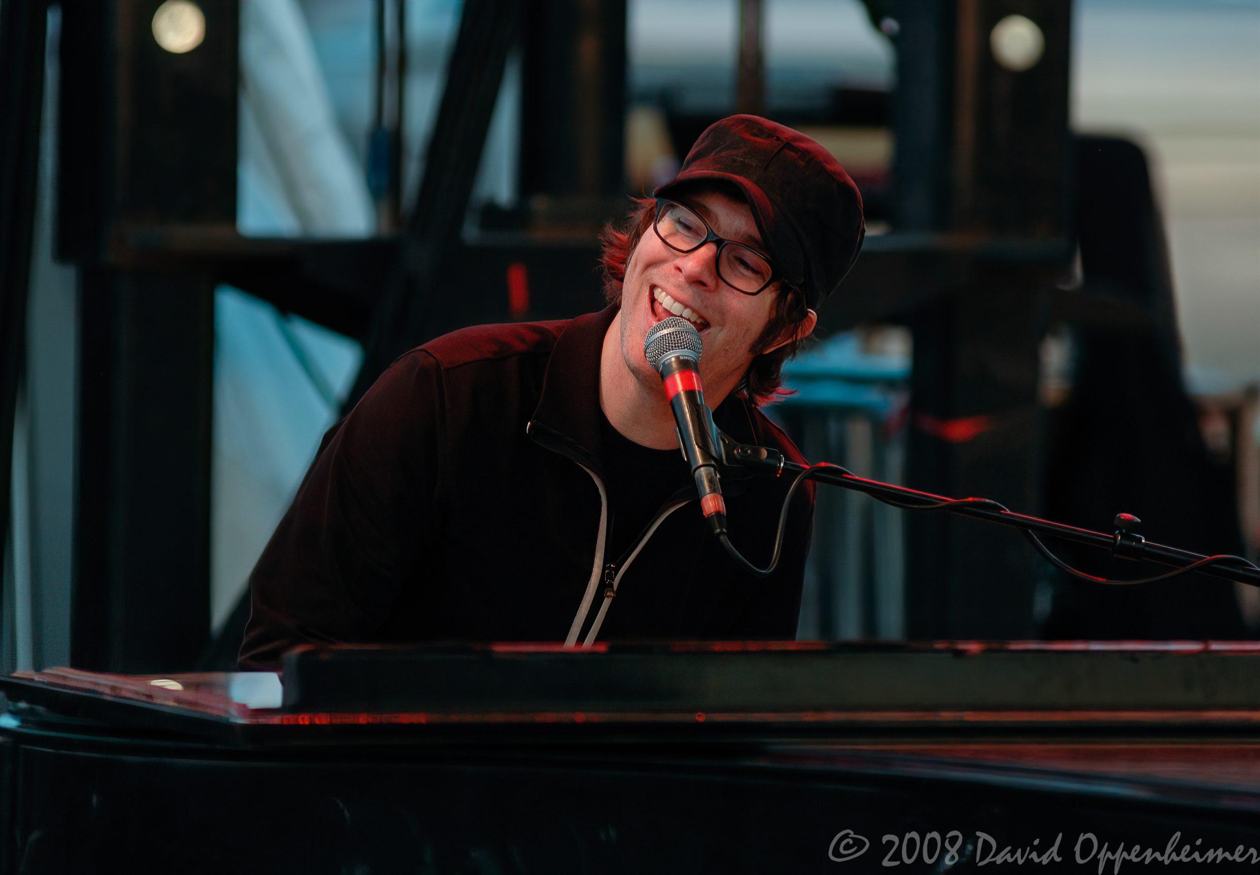 Ben Folds at Langerado Music Festival 2008