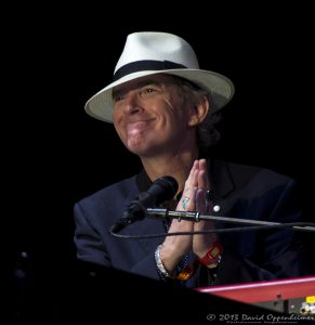 Benmont Tench with Tom Petty and the Heartbreakers