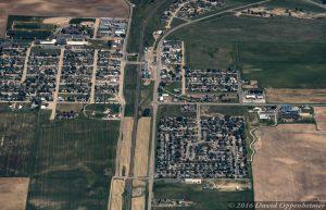 Bennett Colorado Aerial Photo
