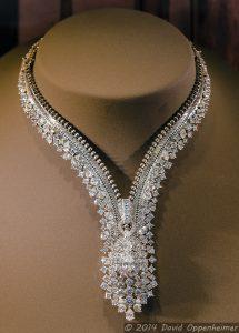 Bergdorf Goodman Zipper Diamond Necklace