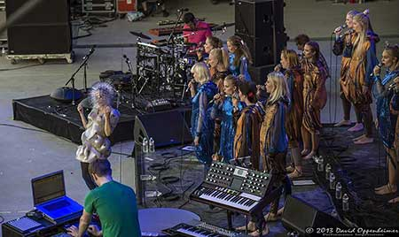 Björk at Bonnaroo Music Festival 2013