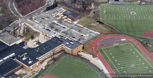 Blind Brook High School Aerial Photo