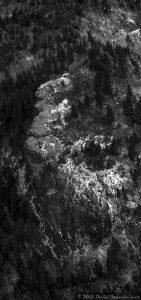 Blue Ridge Parkway - Devil's Courthouse - Aerial Photo