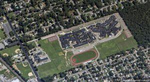 Brentwood High School Aerial