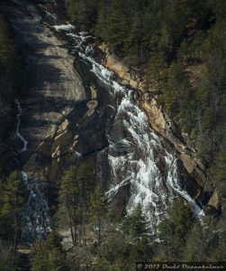 Bridal Veil Falls Waterfall in DuPont State Forest NC