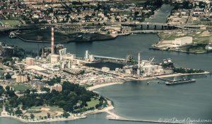 Bridgeport Harbor Generating Station Aerial