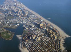 Seagate and Brighton Beach in Brooklyn Aerial Photo