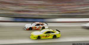 Tommy Baldwin and Richard Childress at Bristol Motor Speedway during NASCAR Sprint Cup Food City 500