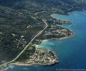 Bull's Bay Beach in Jamaica Aerial Photo