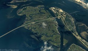 Captree Island and Oak Beach Aerial