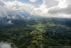 Cascade in Hanover Parish Jamaica Aerial Photo