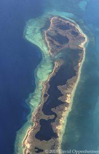 Cayos de las Doce Leguas, Cuba Aerial Photo