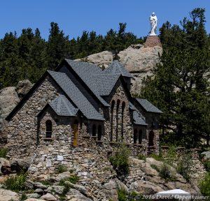 Chapel on the Rock in Allenspark Colorado