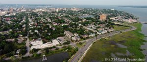 Charletson, South Carolina Aerial Photo