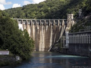 Cheoah Dam on the Little Tennesse River