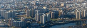 Co-op City in NYC Aerial