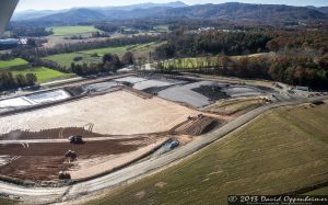 Coal Ash Dust Dumping at Asheville Regional Airport - Westside Development Fill Project