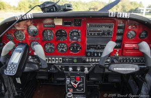 Cockpit of Grumman American AA-5A Cheetah