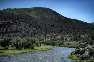 Colorado River in Eagle County Colorado