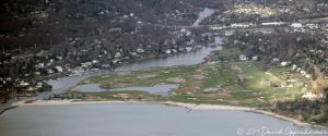 Country Club of Fairfield Golf Course Aerial