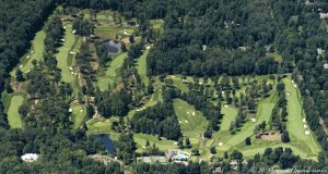 The Country Club of New Canaan Golf Course Aerial