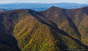Craggy Gardens Visitor Center and Craggy Pinnacle along the Blue Ridge Parkway