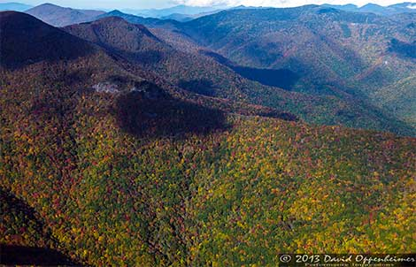 Aerial and Travel Photographs of the Blue Ridge Parkway