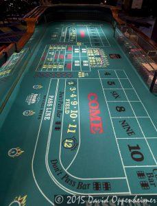 Craps Table at Harrah's Cherokee Casino Resort and Hotel