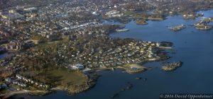 Davenport Neck in New Rochelle Aerial Photo