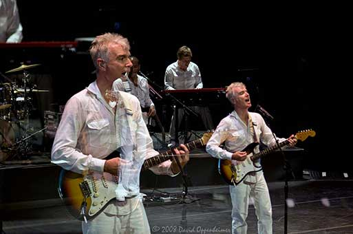 David Byrne at Thomas Wolfe Auditorium 2008