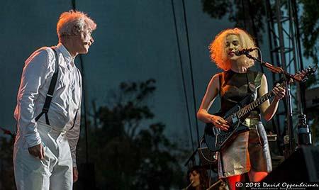 David Byrne & St. Vincent at Bonnaroo Music Festival 2013